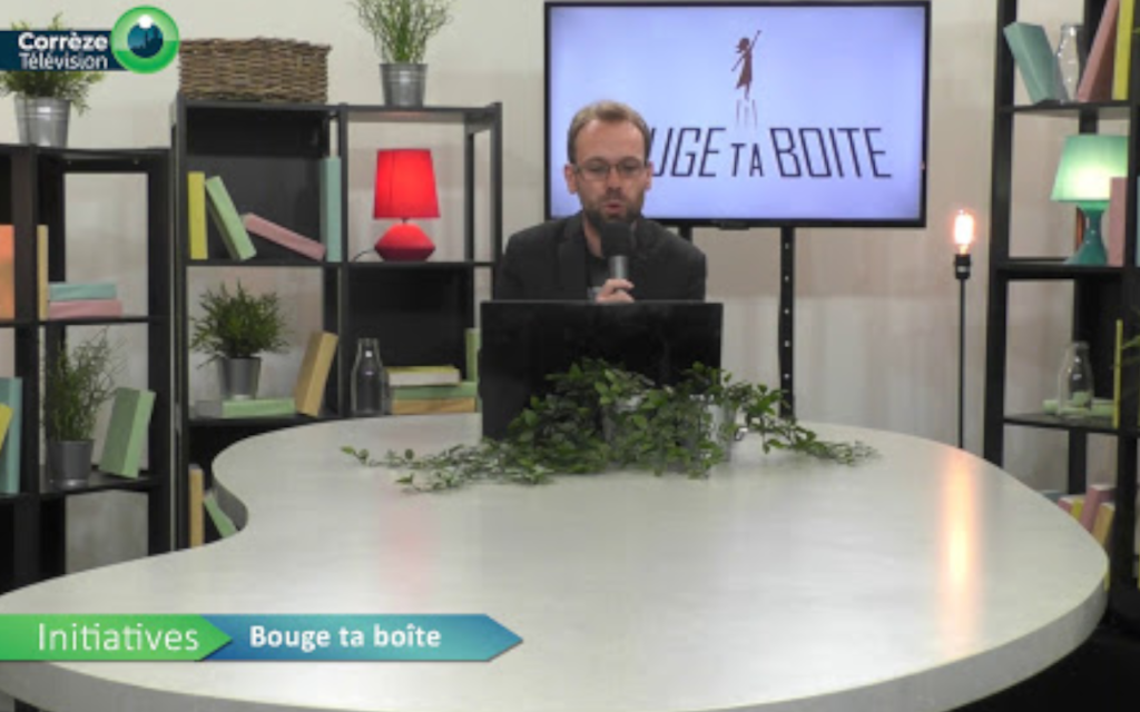 Présentateur de Corrèze Télévision