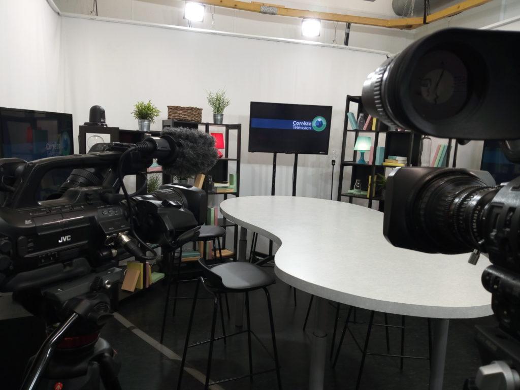 Les locaux de Correze Television