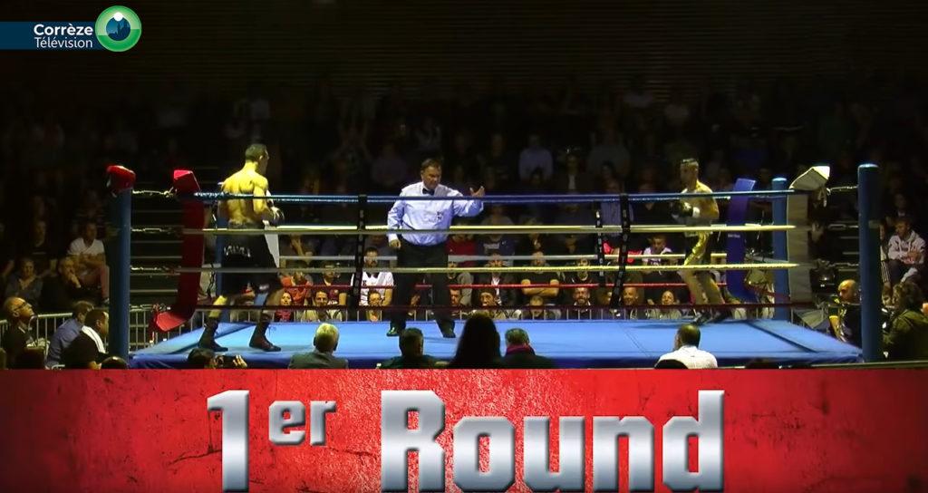 Captation Correze tv competition de boxe
